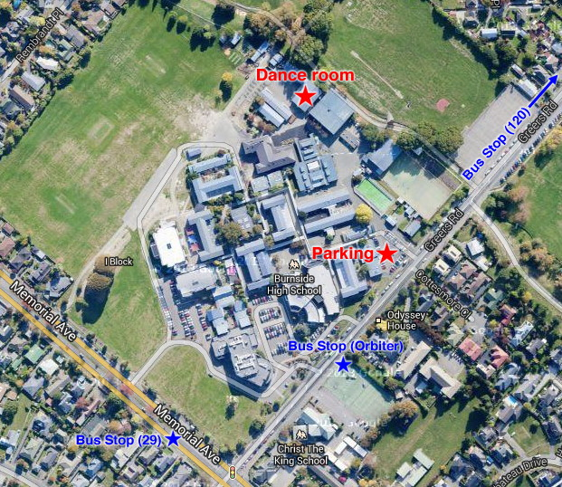 Riccarton High School Map High School See The Map
